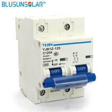 Dc 12-100V 63A 80A 100A 125A Mini Circuit Breaker 1P 2P 3P 4P Power Switch Mcb Air Switch
