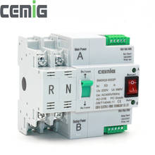 80A AC 230V 2P 63//80//100A Dual Power Automatic Transfer Toggle Switch Transfer Switch Dual