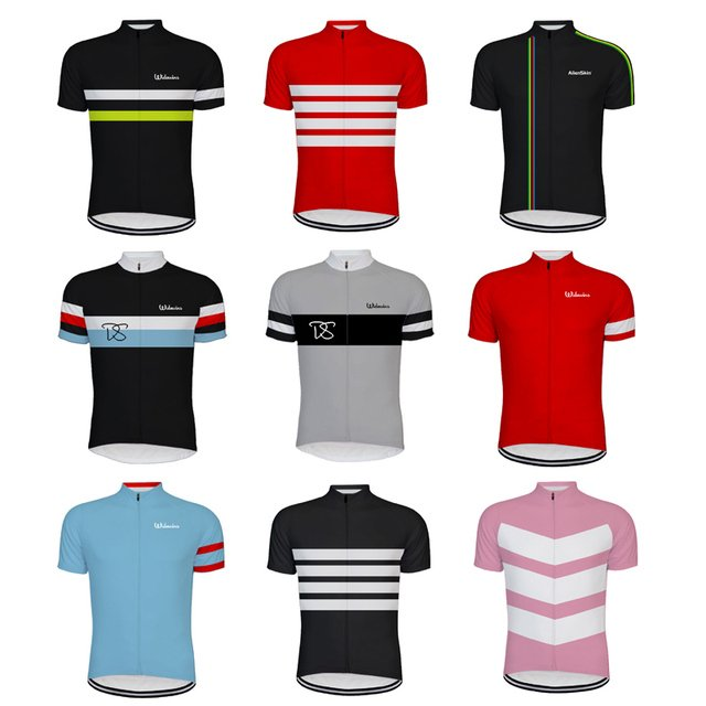 Classical Retro NEW pro Mountain Road RACE Team Bike Cycling Jersey Tops Breathable Customized raphha Multi Types