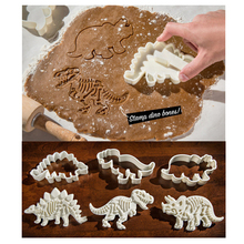4 Pcs Packed Cartoon Funny Stainless Steel Cookie Dessert Fruit Cutter DIY Mould