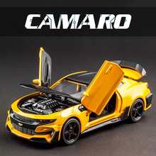 Cars Model Chevrolet Camaro Alloy Metal Diecast Vehicles Car Souvenir Birthday Gift for Kids Man Toy for Children Boys Adults