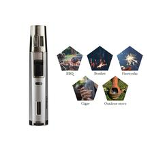 HONEST  2 Jet Torch Lighters Flame Butane Refillbale Windproof Cigar Accessories for Gift