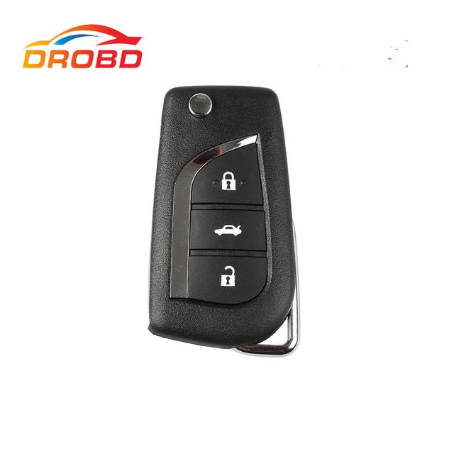 Xhorse VVDI2 For Toyota Universal Remote Key 3 Buttons Xhorse X008 Wire Remote Key X008