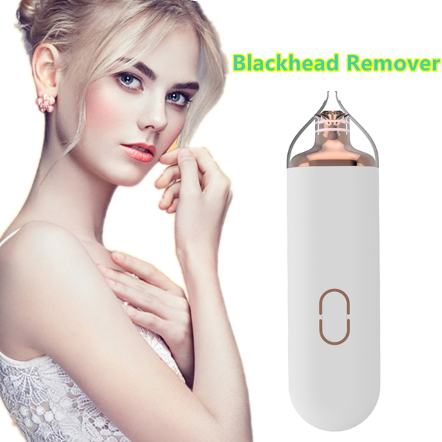 Blackhead Remover Face Deep Nose Cleaner Zone Pore Acne Pimple Removal Vacuum Suction Facial Diamond Beauty Clean Skin Tool