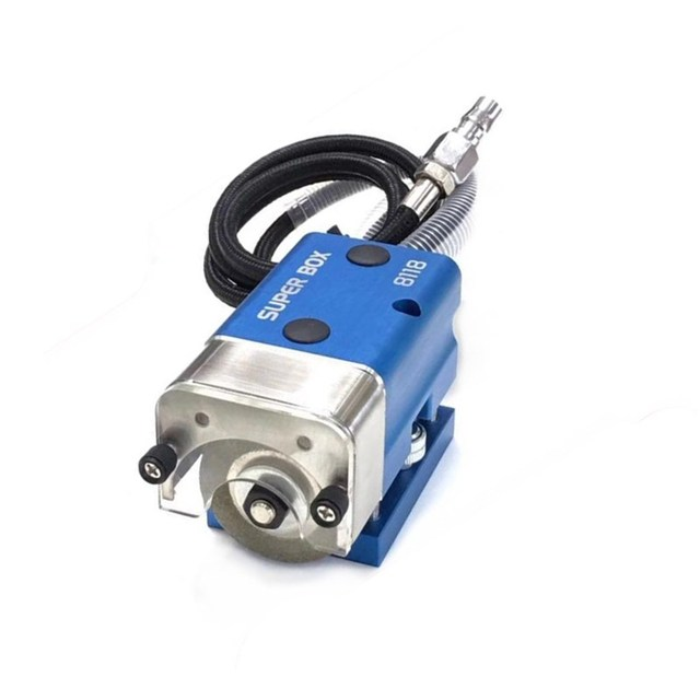 Portable Pneumatic Nicker Grinder For Flat Die Cutter Knife Slot Blade Carton Board Point  Mold Processing Machine