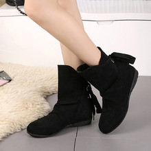 Women Snow Boots Winter Warm Casual Shoes Lace Up Buckle Roman Ankle Short Boots High Quality Martin Boots Zapatos De Mujer