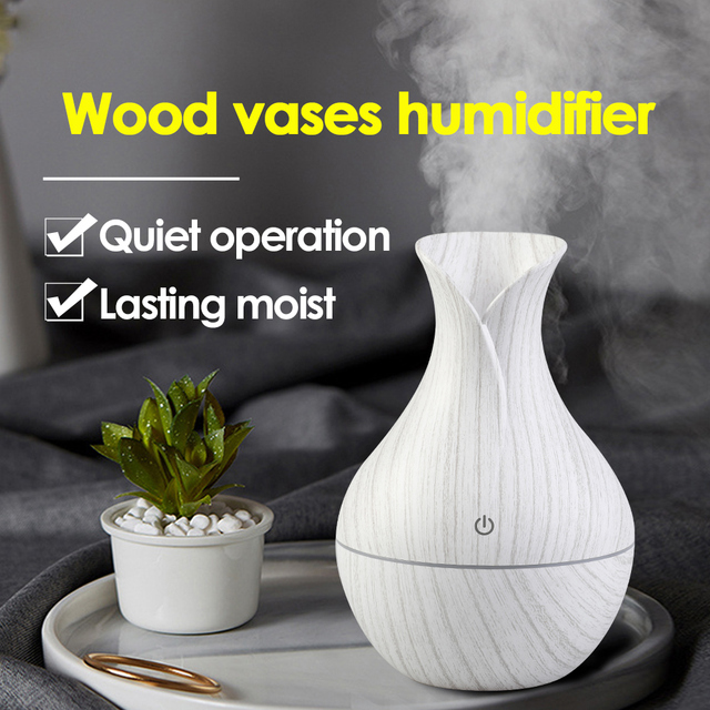 Mini Air Lamp Humidifier Ultrasonic Mist Aroma Diffuser USB Essential Oil Diffuser Aromatherapy Humidifier For Home Car Office
