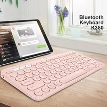 Logitech K380 Wireless Bluetooth Keyboards Portable Multi Device Wireless Keyboard for Smartphone and Tablet Support Bluetooth