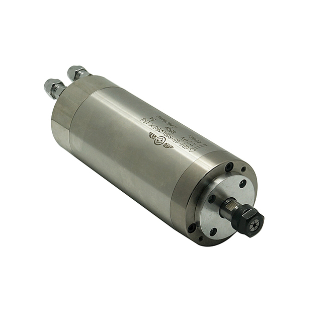 Water-Cooled Spindle Motor 220V 800W 1.5KW For Engraving Machine cnc router With 4 Bearings