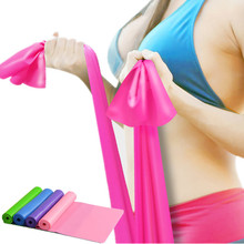 Elastic Exercise Fitness Rubber Equipment Yoga Pilates Stretch Resistance Band
