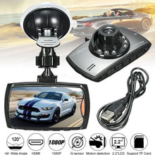 Car Wide Angle HD Driving Recorder DVR LED Night Vision Support USB TF Auto Off Smart Video Recorder Automobile Loop Recording