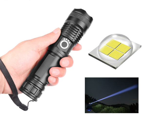 VIP 7000 lumens Lamp most powerful flashlight usb Zoom led torch xhp70 xhp50 18650 or 26650 battery Best Camping, Outdoor
