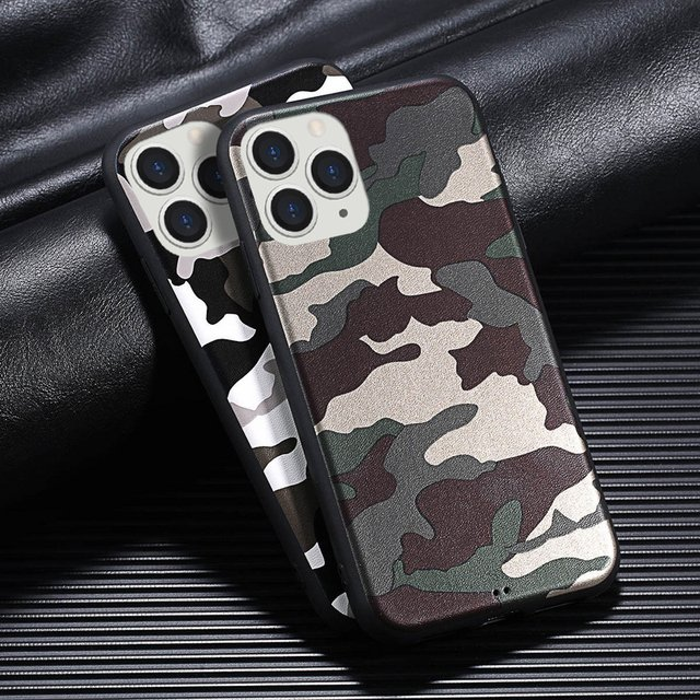 Luxury Camouflage Colorful Phone Case For iphone 11 Pro SE 2 XR XS Max 6 6S 7 8 Plus Soft Cover Case For iphone SE 2 2020 Capa