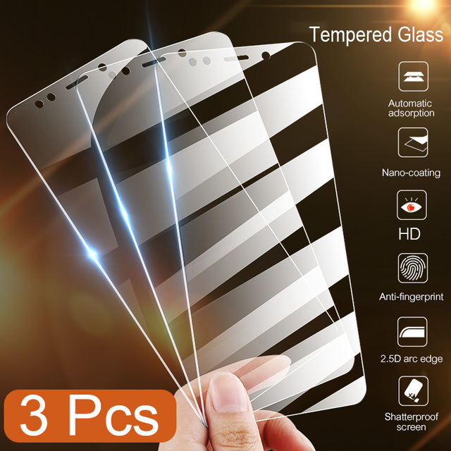 3PCS Protective Glass Screen Protector for Redmi 8 8A 7 7A 5 Plus Tempered Glass Film for Xiaomi Redmi K20 Pro 6 Pro 5A 6A 9H HD