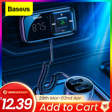 Baseus Fm Modulator Transmitter Bluetooth 5 0 Fm Radio 3 1a Usb Car Charger Handsfree Car Kit Wireless Aux Audio Fm Transmiter Buy Cheap In An Online Store With Delivery Price Comparison Specifications