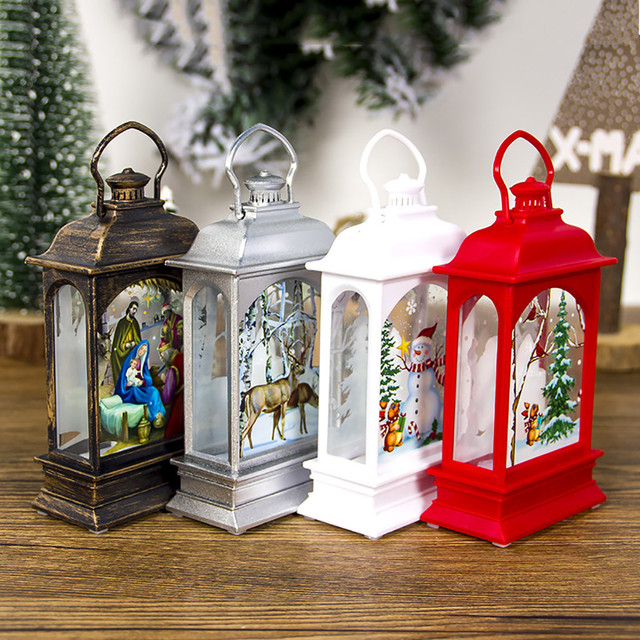 25#Christmas Decorations for Home Led 1pcs Christmas Candle with LED Tea light Candles Christmas Tree Decoration Kerst Decoratie