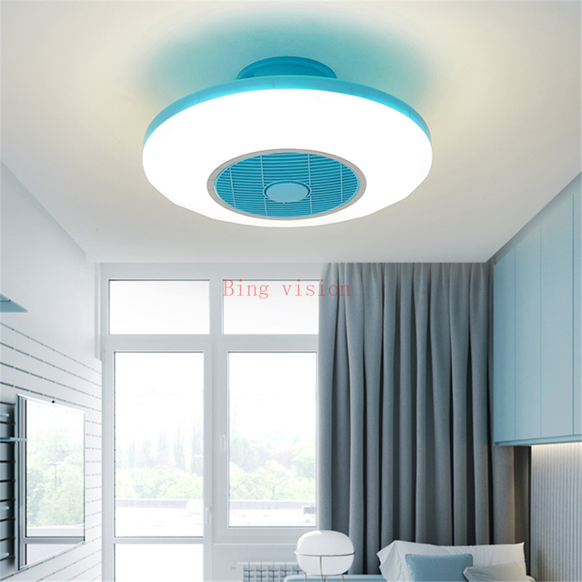 Modern Ceiling Fan Lights Dining Room Bedroom Living Remote Control Fan Lamps Invisible Ceiling Lights Fan Lighting Small Office Buy Cheap In An Online Store With Delivery Price Comparison Specifications Photos