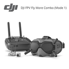 DJI FPV Experience Combo FPV System FPV Fly More Combo lower latency HD 720p 120fps resolution 4km maximum transmission range