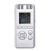 8GB Digital Voice Recorder Audio Recorder Remote Sound Control Noise Reduction Stereo Loseless Music MP3 Player