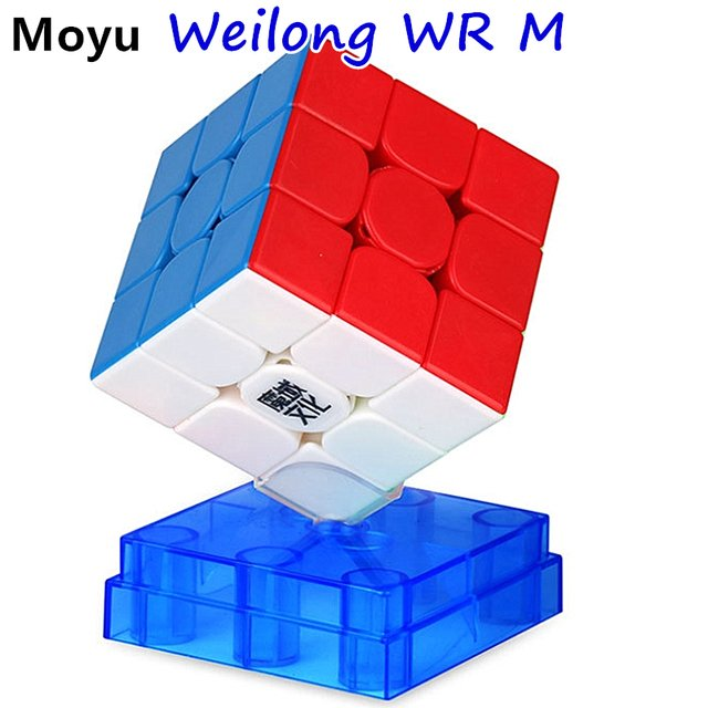 Moyu 3x3x3 cube Weilong WR/ WR M Magnetic 3x3x3 magic cube Moyu 3x3 Magnetic speed cube 3x3x3 cubo magico Magnetic puzzle cube