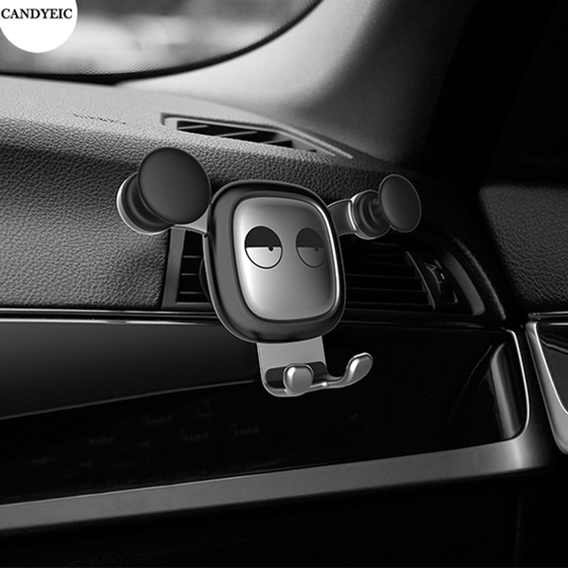 CANDYEIC Gravity Car Holder For Phone in Car No Magnetic Mobile Phone Holder Cell Stand Support For iPhone Samsung Huawei Xiaomi