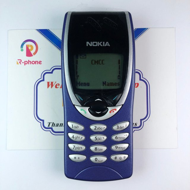 Unlocked NOKIA 8210 Mobile Phone GSM 900/1800 Original Refurbished Cellphone & Can't work in USA