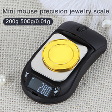 Electronic Mouse Scale Scales Company Multifunction Stainless Steel Platform Gold Family Gift Mini Durable Portable