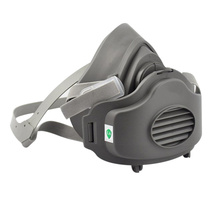 3200 Half Face Dust Gas Mask Respirator Safety Protective Mask Anti Dust 3701CN Filter Cotton Pad for 3M Dust Gas Mask