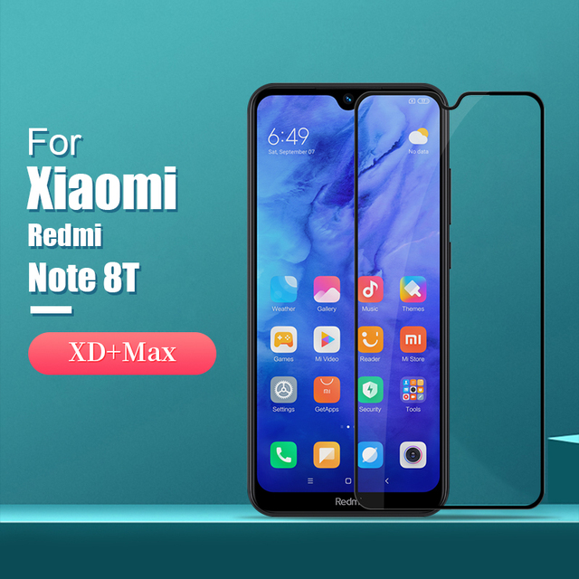 For xiaomi redmi note 8t Glass Screen Protector NILLKIN Amazing H/H+PRO/CP+PRO/XD+ 9H redmi note 8t Tempered Glass Protector