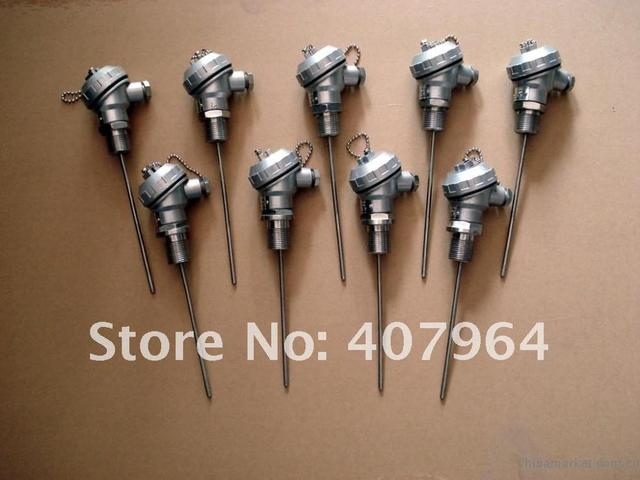 Sheathed Pt100 Thermocouple with Alluminum Protection Head, high quality, fast delivery