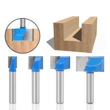 Engraving Cleaning Bottom Router bit Milling Cutter for Woodworking Carving