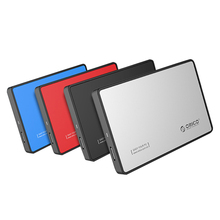 ORICO 2588US3 USB 3.0 HDD SSD Case 2.5 SATA Hard Drive Enclosure Tool Free 5Gbps 2.5 inch SATA External Hard Drive  for Windows