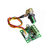 DC 1.8V~15V 2A PWM Motor Speed Controller Automatic DC Motor Regulator Control Module Low Voltage 1803BW
