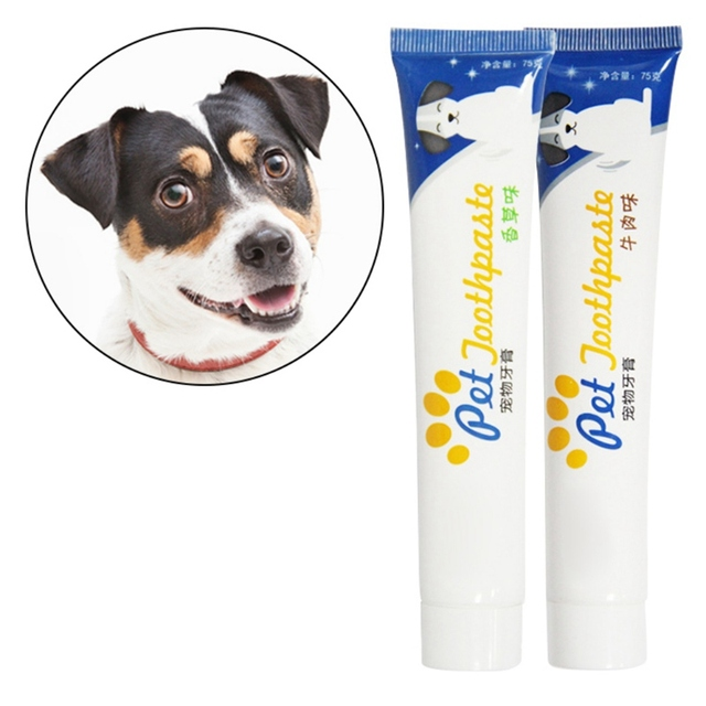 Pet Teeth Cleaning Supplies Healthy Edible Toothpaste Oral Cleaning And Care For Dog