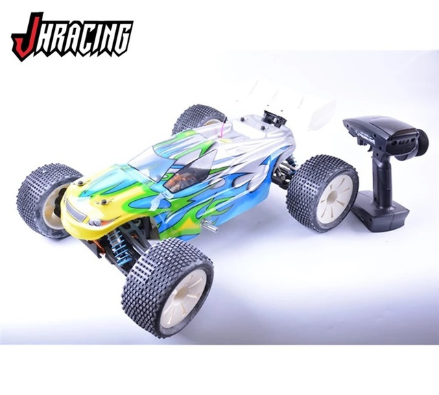 Jhracing 1/8 4WD Nitro RC off-road truck with GO 28 Nitro engine