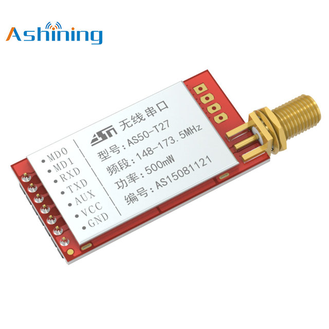 170M Wireless Data Transmitter and Receiver Module AS50-T27 Wake on Radio Low Frequency Deep Penetration SI4463
