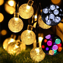 Multi Color LED String Light Waterproof Fairy Decorative Chain Lamp for Outdoor