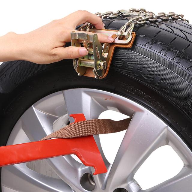 High Quality Balancing Anti-slip Steel Chain Wear-resistant Car Chains For Ice Snow Mud Road Safe Driving