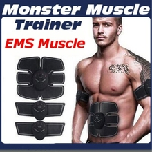 EMS Hip Trainer Muscle Stimulator ABS Fitness Lifting Vibrating Exercise Equipment Abdominal Trainer Body Slimming Massager