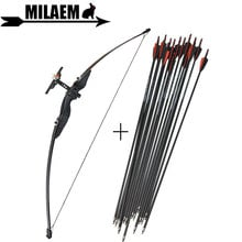 """30/"""" Carbon Arrows Spine 500 Archery Practice Target Recurve Bow Hunting Shooting"""