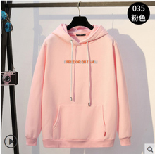 2019 autumn and winter couple hooded warm thick sweater 717