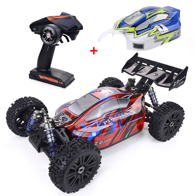 ZD Racing 9020-V3 Climbing RC Car 1:8 4WD 2.4G Buggy 120A ESC 4268 Brushless Motor RC Car High-quality Monster Truck Outdoor Toy