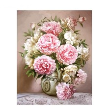 GATYZTORY 40x50cm painting by numbers Flowers Nature pictures by numbers On Canvas Room Decoration Frameless DIY Digital Paint
