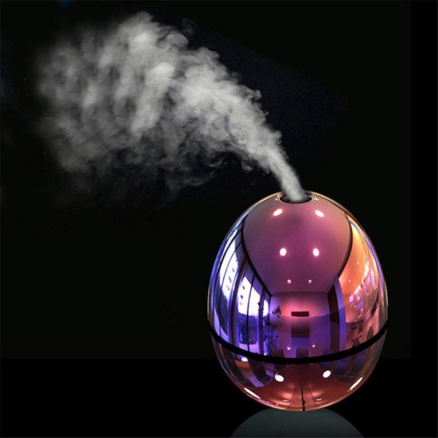 New Air Humidifier USB Electric Portable Egg Shape Humidifier Mini Mist LED Atomizer Air Purifier Diffuser for Home Car Fogger