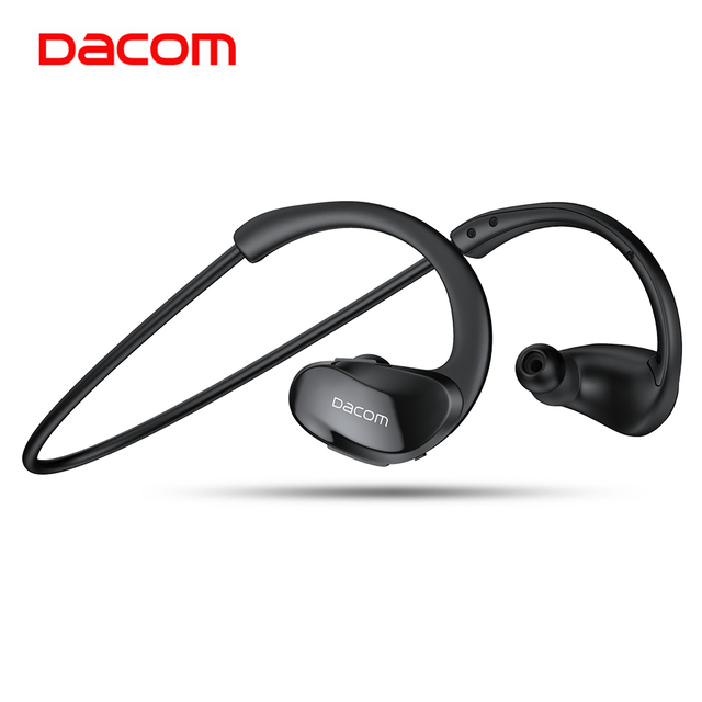 Dacom Athlete Sports Wireless Headphones IPX5 Waterproof Bluetooth Earphones Running Headset Head Ear Phones with Handsfree Mic