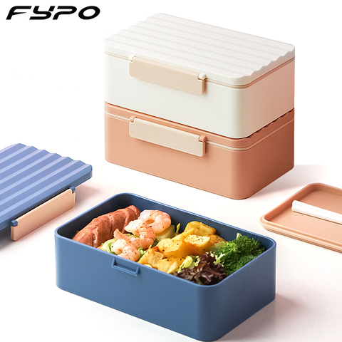 Stainless Steel Insulated Lunch Box student Multi-layer Bento Box Food Container