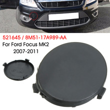 Car black Front Bumper Tow Hook Cap Cover for FORD for FOCUS MK2 for C-Max 2007-2011 8M5117A989AA
