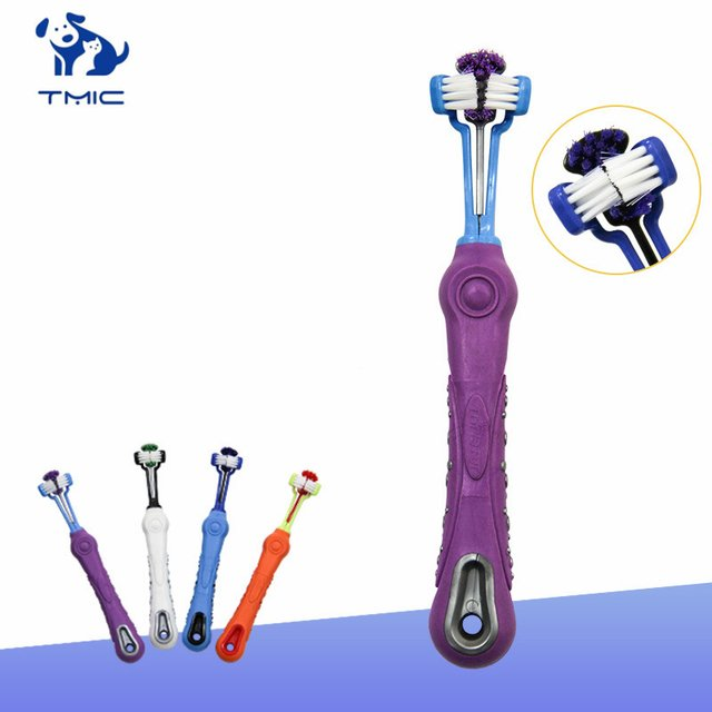 1 Pcs High Quality Dog Toothbrush Multi-angle Cleaning To Remove Calculus Dog Toys Dogs and Cats Clean Teeth Pet Supplies
