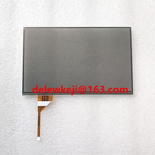 7.3 inch black glass touch screen Digitizer Lens panel for GS300 GS350 IS350 IS250 IS300 IS200  DVD player GPS navigation