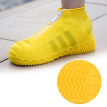 Waterproof Shoes Covers Rubber Rain Boots Overshoes Portable Resistant Outdoor